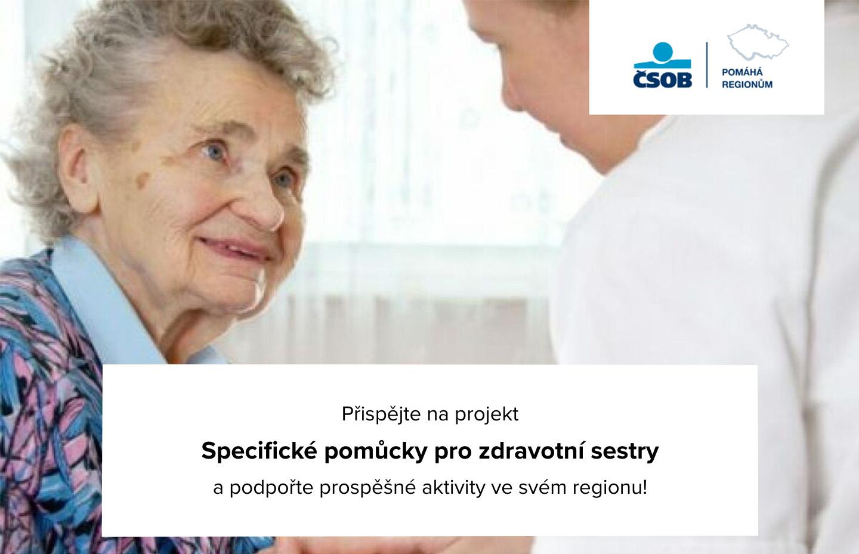 Podpořte nás v projektu ČSOB Pomáhá regionům